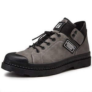 Winter Boots For Men Men's Warm Lace Up