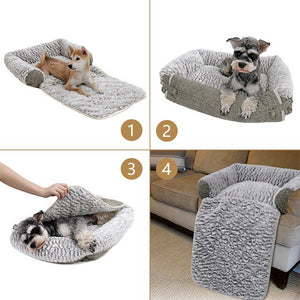 Pet Dog Bed Super Soft Sofa Cat Bed Warm Dog