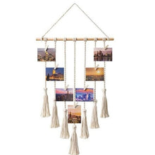 Load image into Gallery viewer, Hanging Woven Photo Rope