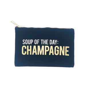 Soup Of The Day - Champagne :: Makeup Bag