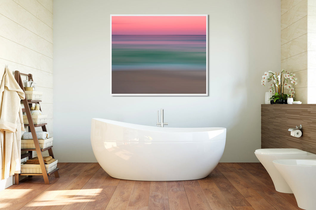 Cosmo Miami Beach Abstract Seascape Fine Art Print