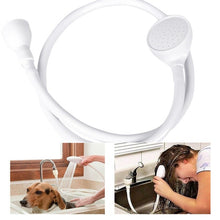 Load image into Gallery viewer, Single Wide Water Tap Shower Head Spray Hose Pet