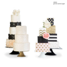 Load image into Gallery viewer, Heart of Gold Cake Stand