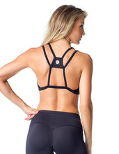 Load image into Gallery viewer, SPORTS BRA 133 PENCE BLACK