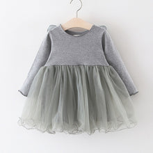 Load image into Gallery viewer, Grey Winged Pixie Girls Dress