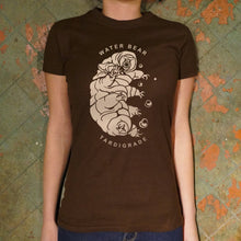 Load image into Gallery viewer, Water Bear T-Shirt (Ladies)