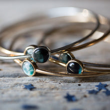 Load image into Gallery viewer, Moon Phase Stacked Bangle Set