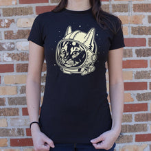 Load image into Gallery viewer, AstroCat T-Shirt (Ladies)