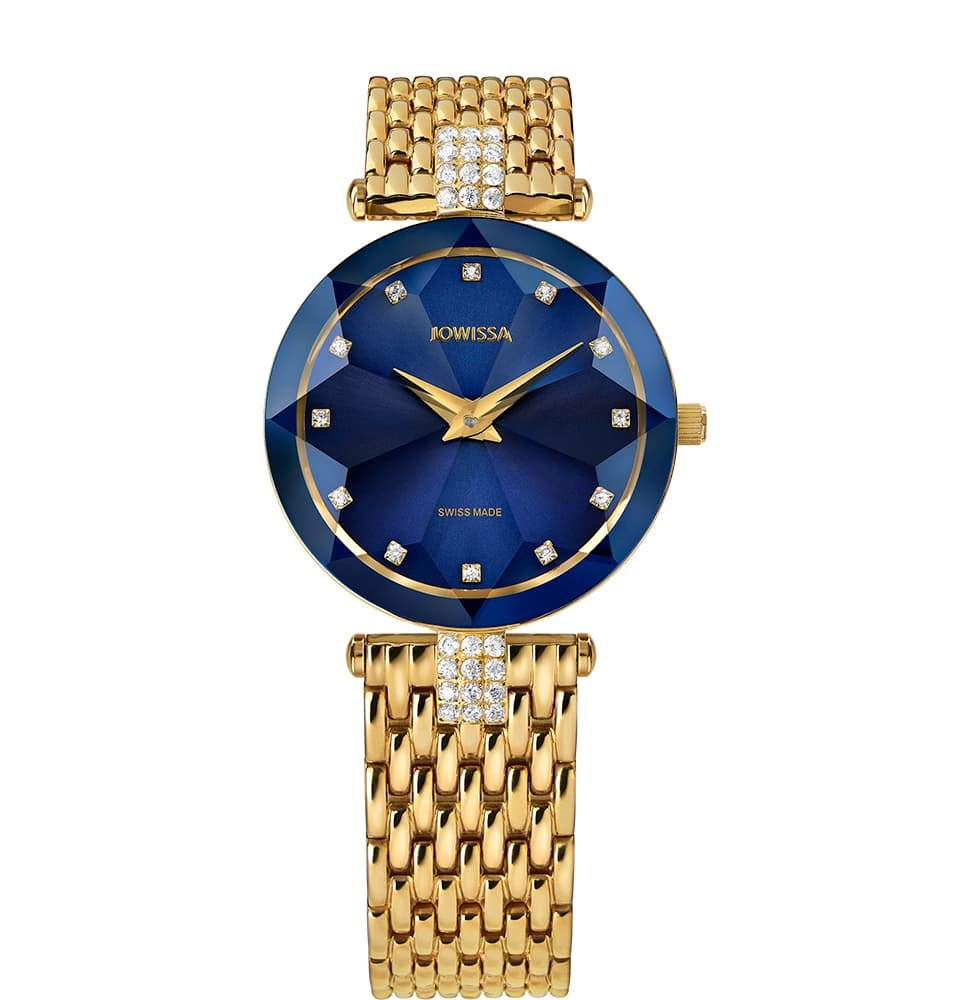 Facet Strass Swiss Ladies Watch J5.632.M