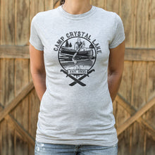 Load image into Gallery viewer, Camp Crystal Lake T-Shirt (Ladies)