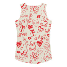 Load image into Gallery viewer, Valentine Love Tank top