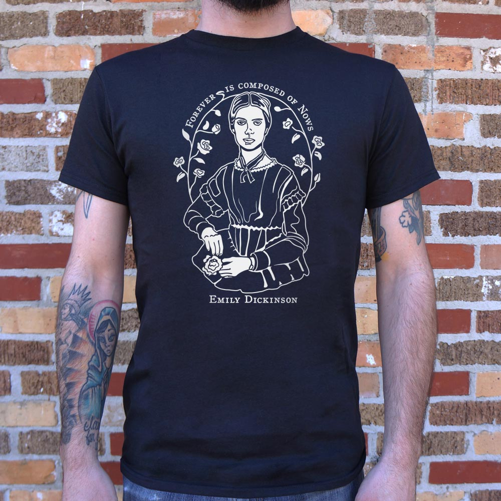 Emily Dickinson Quote T-Shirt (Mens)