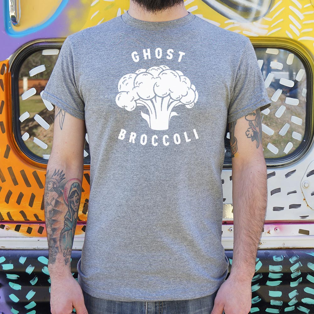 Ghost Broccoli T-Shirt (Mens)