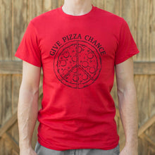 Load image into Gallery viewer, Give Pizza Chance T-Shirt (Mens)