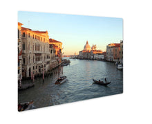 Load image into Gallery viewer, Metal Panel Print, Venice Italy Grand Canal Basilicsantmaridellsalute View From
