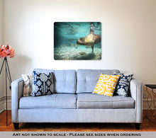 Load image into Gallery viewer, Metal Panel Print, Sea Lion Swimming Underwater In Ocean
