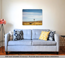 Load image into Gallery viewer, Metal Panel Print, Traveling Through New Mexico State Near Albuquerque