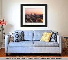Load image into Gallery viewer, Framed Print, Syracuse At Dusk