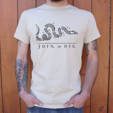 Load image into Gallery viewer, Join Or Die Snake T-Shirt (Mens)