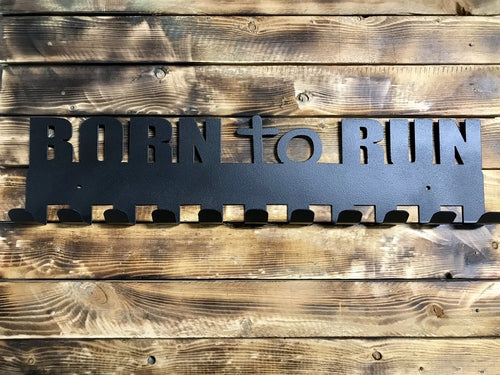 Born to Run Medal Hanger