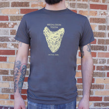 Load image into Gallery viewer, Megalodon Tooth T-Shirt (Mens)