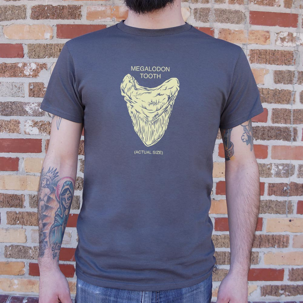 Megalodon Tooth T-Shirt (Mens)