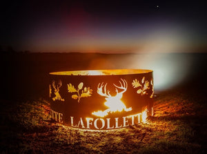 Personalized Fire Pit Ring