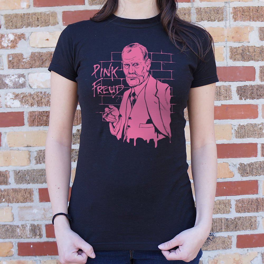 Pink Freud T-Shirt (Ladies)