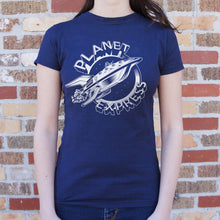 Load image into Gallery viewer, Planet Express Spaceship T-Shirt (Ladies)