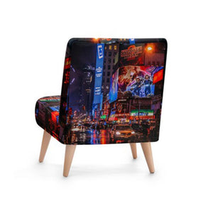 Modern City Accent Occasional Chair