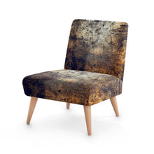 Load image into Gallery viewer, Dark Metallic Print Accent Occasional Chair