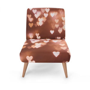 Glow Heart Accent Occasional Chair