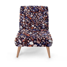 Load image into Gallery viewer, Eclectic Stone Print Accent Occasional Chair