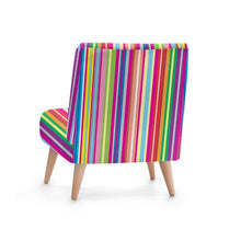 Load image into Gallery viewer, Beach Candy Striped Accent Occasional Chair