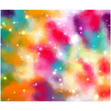 Load image into Gallery viewer, RAINBOW TIE-DYE ACRYLIC PRINT