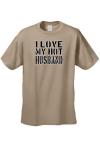 Men's/Unisex I Love My Hot Husband Marriag Sex