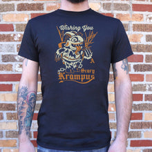 Load image into Gallery viewer, Scary Krampus T-Shirt (Mens)