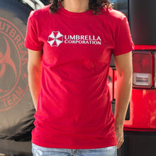 Load image into Gallery viewer, Umbrella Corporation T-Shirt (Ladies)
