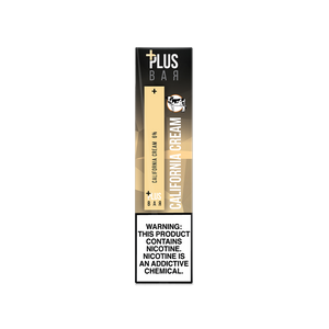 Plus Bar - CALIFORNIA CREAM Disposable Device
