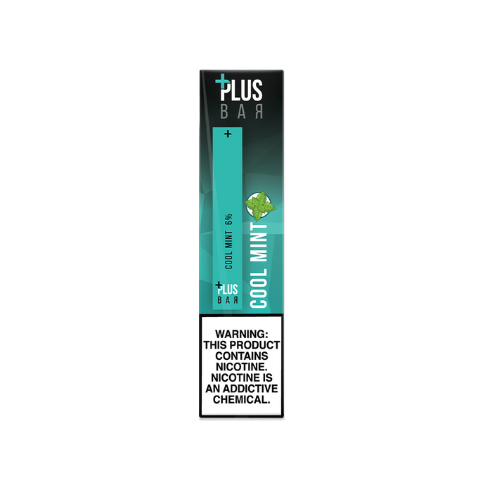 Plus Bar - COOL MINT Disposable Device