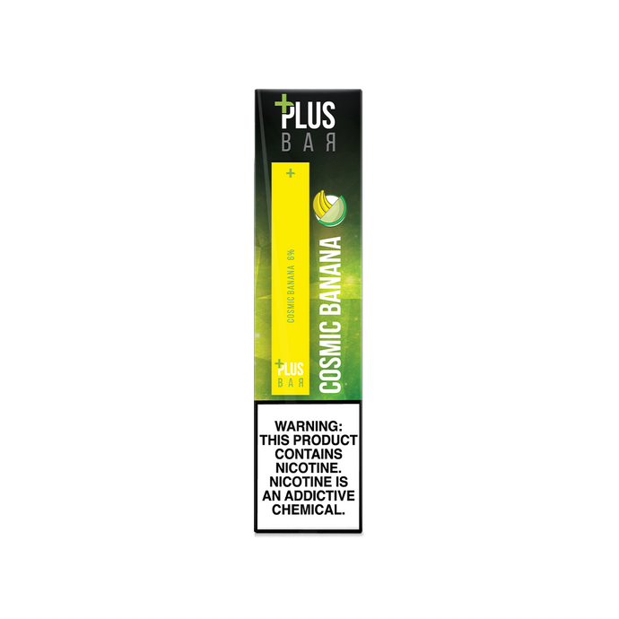 Plus Bar - COSMIC BANANA Disposable Device