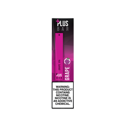 Plus Bar - GRAPE Disposable Device