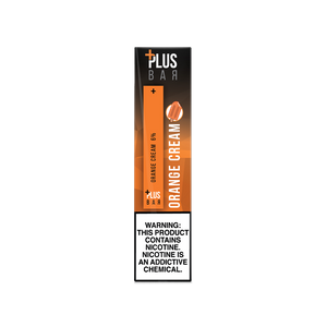 Plus Bar - ORANGE CREAM Disposable Device