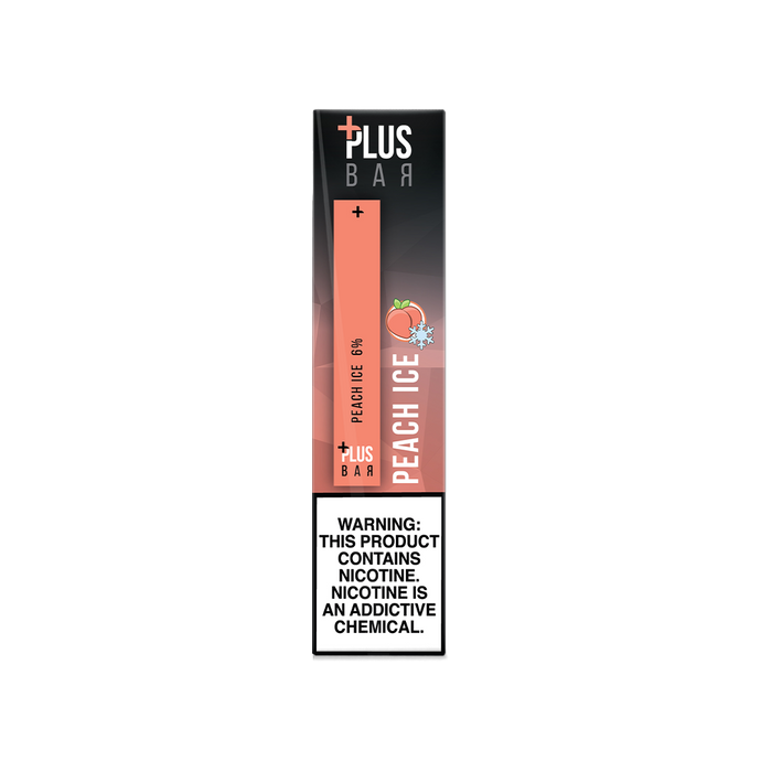 Plus Bar - PEACH ICE Disposable Device