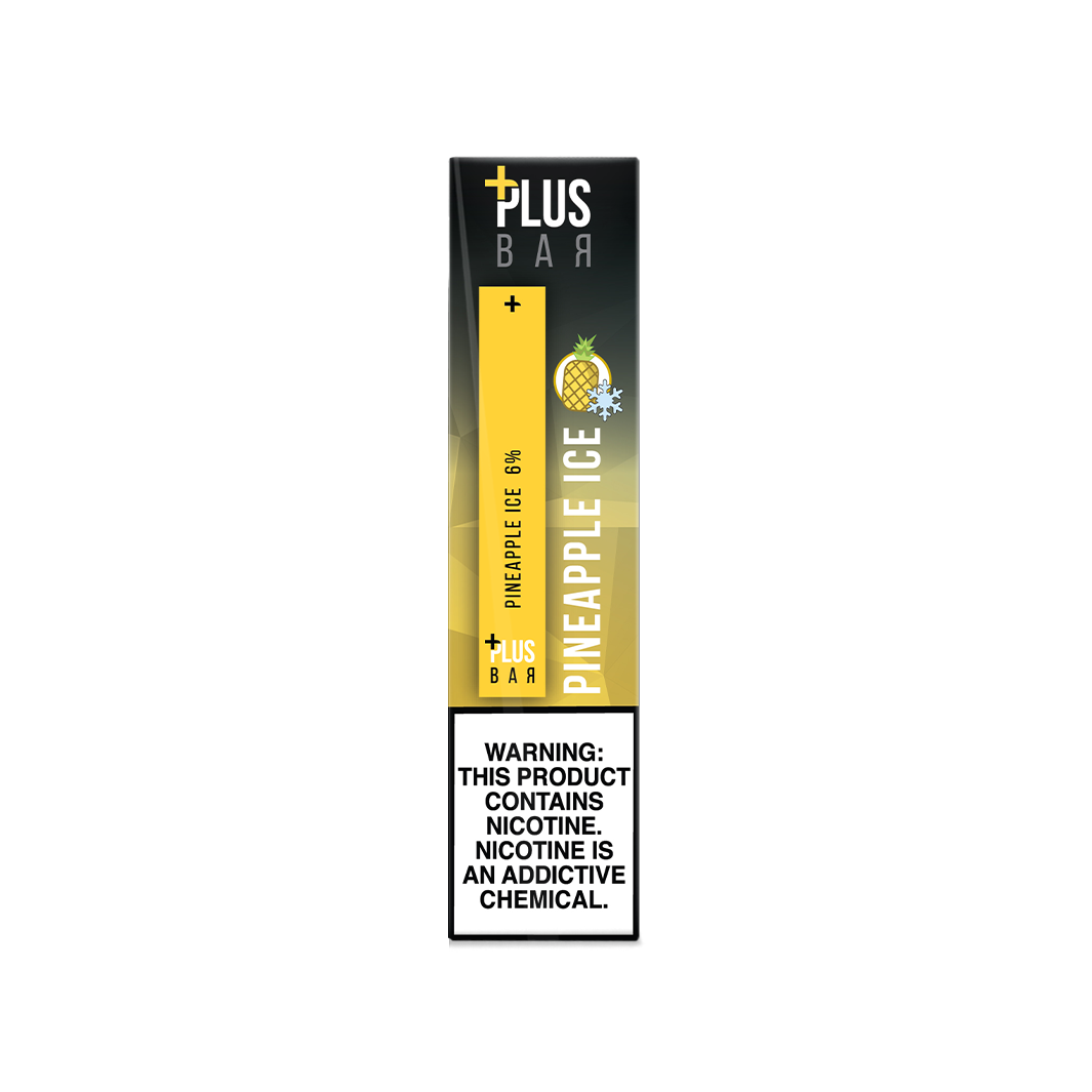 Plus Bar - PINEAPPLE ICE Disposable Device