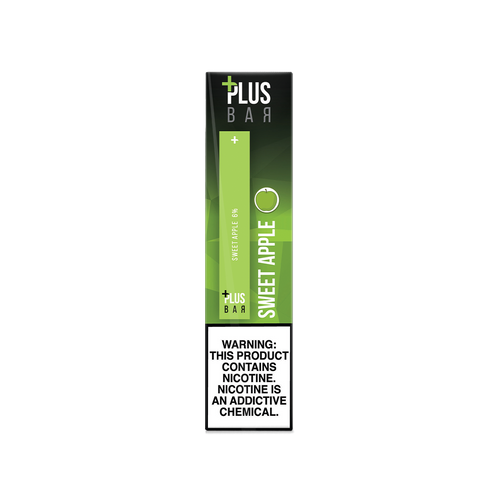 Plus Bar - SWEET APPLE Disposable Device