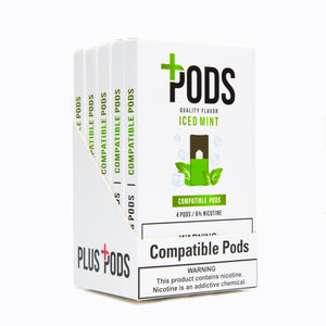 Iced Mint Compatible Pods 6% (Display of 5)