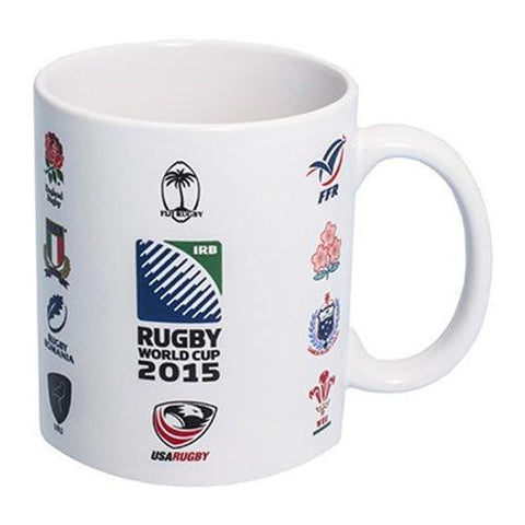 Official 20 Nations IRB World Cup 2015 Rugby Union Ceramic Mug New Boxed