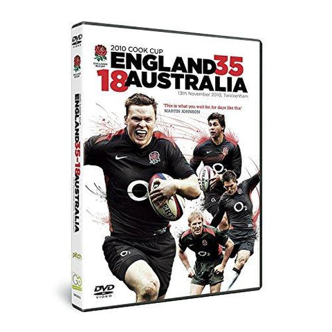 England 35 Australia 18 , the 2010 Cook Cup [DVD] [2010]