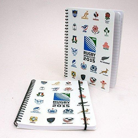IRB 2015 Rugby World England A5 lined A5 notepad